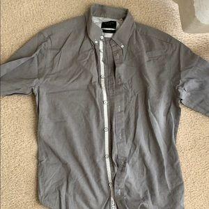 Rag & bone long sleeve collared shirt